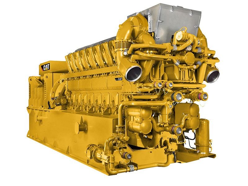 Caterpillar Natural Gas Engine Efficiency