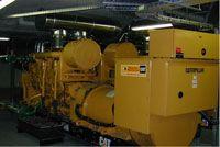 Centre Commercial Colline StCloud - groupes électriques pour éviter les coupures de courant
