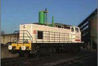 Moteurs Cat® dans un engin ferroviaire SNCF Fret Remotorissation LocoBB63500