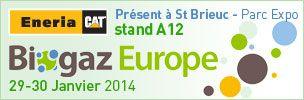 Commandez votre badge gratuit sur biogaz-europe.com