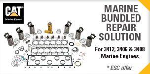 Kits de réparation moteurs marins Caterpillar