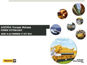 Programme Moteurs industriels - PSD Malaga 2014