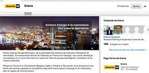 Eneria France sur Linkedin