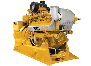 Cat® Gas and biogas power generators
