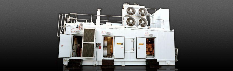 Stand by diesel generator package