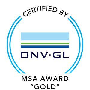Certification Eneria - MSA Award Gold