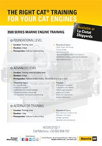 Training courses for caterpillar engines maintenance eneria for Outboard motor repair training online