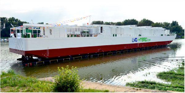 Barge Hummel - LNG Hybrid