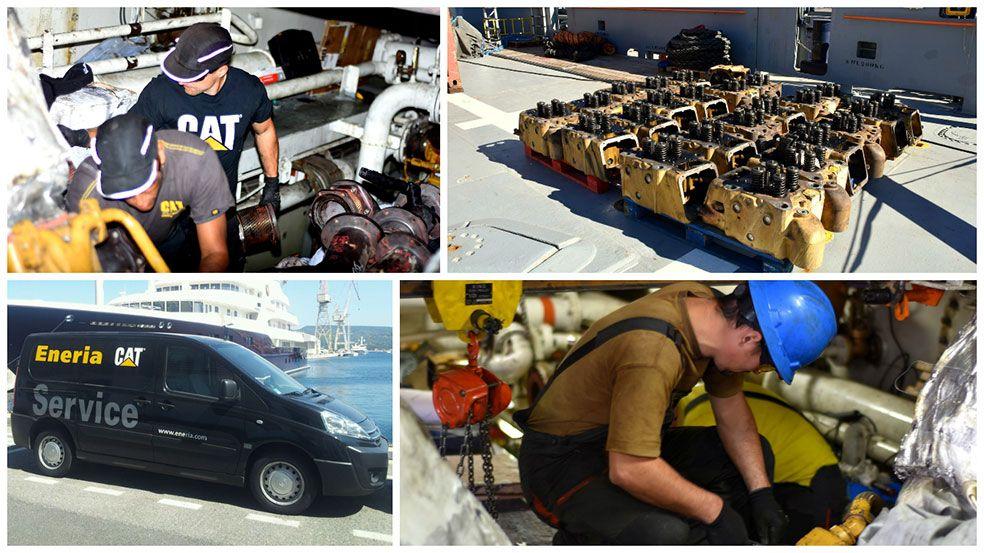 Maintenance moteurs marins Cat®
