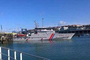 Patrol boat Jean-Francois Deniau