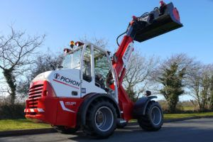 Motorisation de machines agricoles de levage