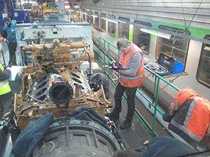 Maintenance moteurs industriels et ferroviaires