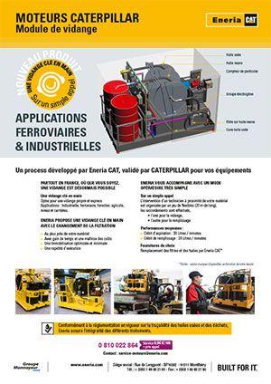 Service de vidange moteurs industriels