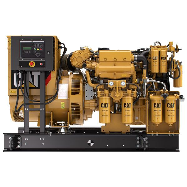 Cat® Marine Generator Sets and auxiliary engines - Eneria
