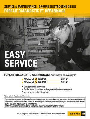 Easy Service - Groupes électrogènes diesel
