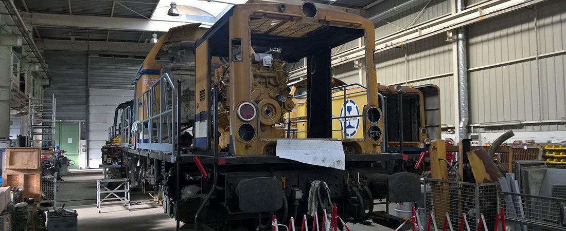 Modernisation locomotive V211 Néo - Avancement 04 2017