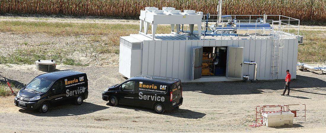 cogénération biogaz labat