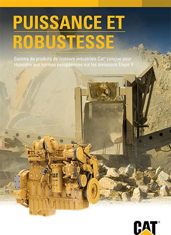 Moteurs industriels Caterpillar - Etape V