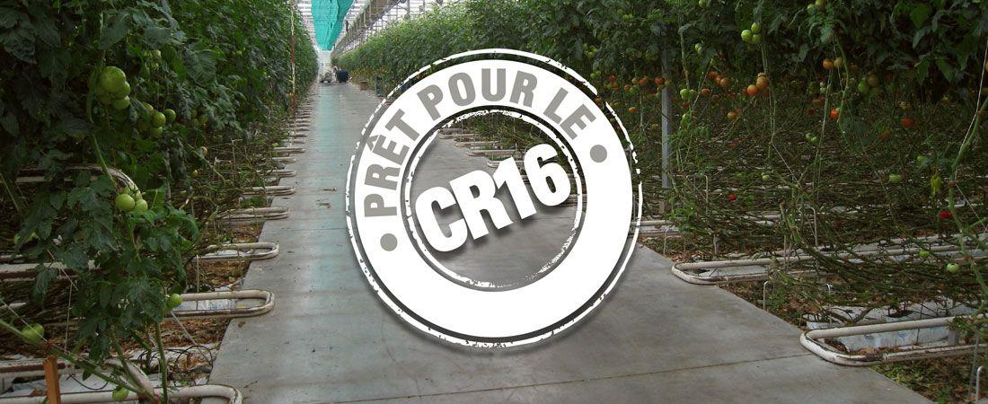 Cogénération - Nouveau contrat CR16
