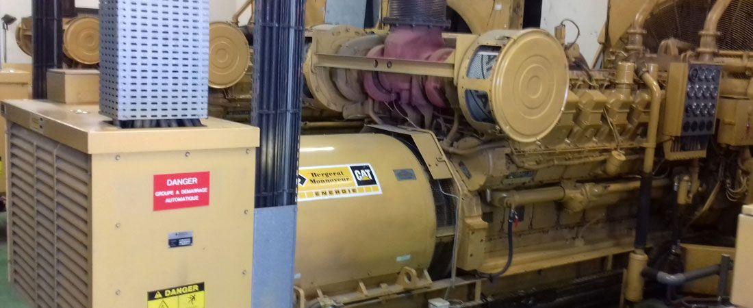 Rénovation centrales diesel dispatch