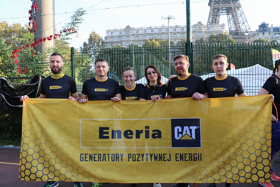 20Km de Paris 2018 - Team Eneria Pologne