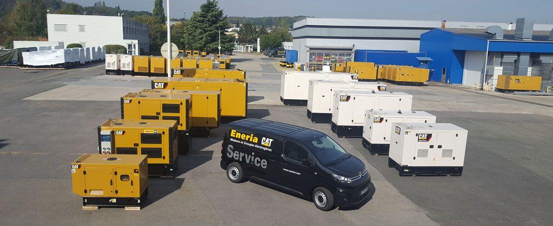 Eneria Maintenance Groupes Electrogènes multimarques