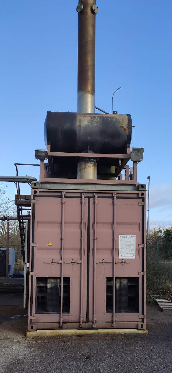 Rénovation Groupe Electrogène Biogaz Suez