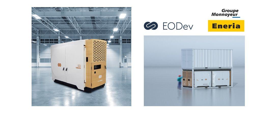 EODev (Energy Observer Developments) et le Groupe Monnoyeur,   au travers de sa filiale ENERIA, signent un partenariat industriel novateur  dans l'hydrogène