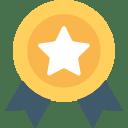 icone médaillé