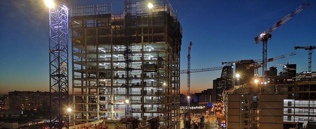 construction siège Vinci